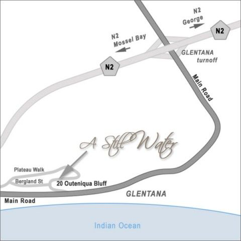 Map A Still Water Self Catering Guest House in George  Garden Route  Western Cape  South Africa