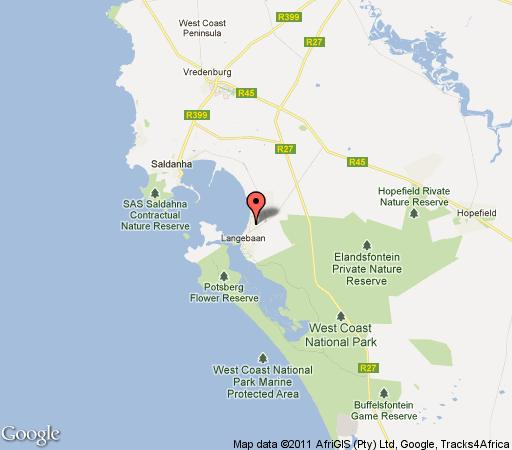 Map House - Langebaan Golf Estate in Langebaan  West Coast (WC)  Western Cape  South Africa