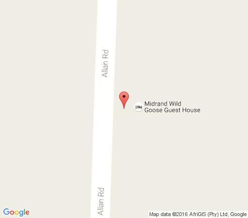 Map Midrand Wild Goose Guest House / Boutique in Glen Austin AH  Midrand  Johannesburg  Gauteng  South Africa