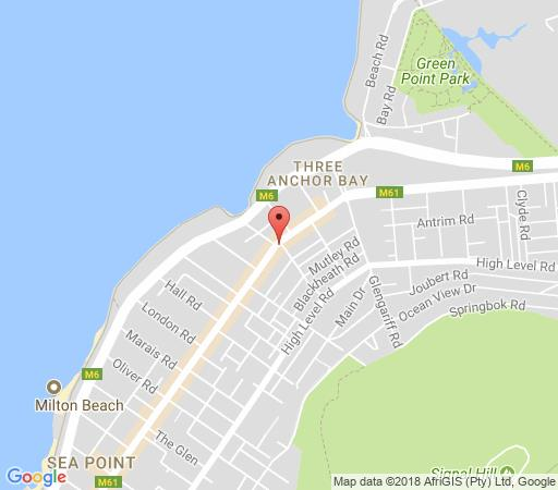 Map Centurion All Suite 201 in Sea Point  Atlantic Seaboard  Cape Town  Western Cape  South Africa