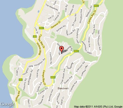 Map Atlantic Pearl in Camps Bay  Atlantic Seaboard  Cape Town  Western Cape  South Africa