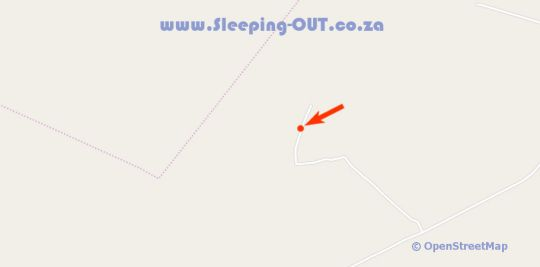 Map Wilde Avontuur in Vaalwater  Waterberg  Bushveld  Limpopo  Afrique du Sud