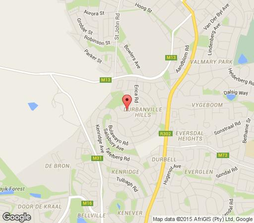 Map Best @ Home in Durbanville  Northern Suburbs (CPT)  Cape Town  Western Cape  South Africa