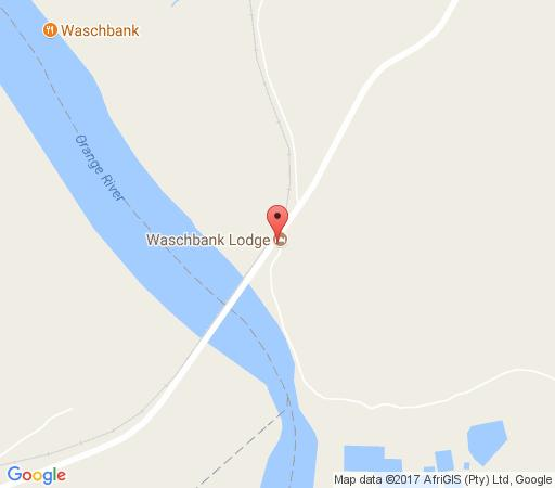 Map Waschbank River Lodge in Gariep Dam  Xhariep (Southern Free State)  Free State  South Africa