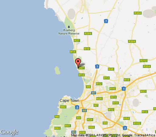 Map Blue Bays 308 in Bloubergstrand  Blaauwberg  Cape Town  Western Cape  South Africa