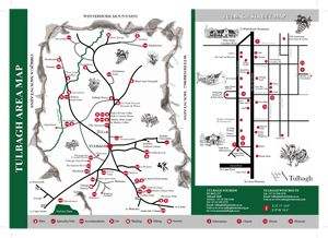 Map The Toll House in Tulbagh  Cape Winelands  Western Cape  S�dafrika