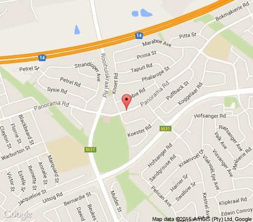 Map Mario&Elize B&B in Centurion Central  Centurion  Pretoria / Tshwane  Gauteng  South Africa