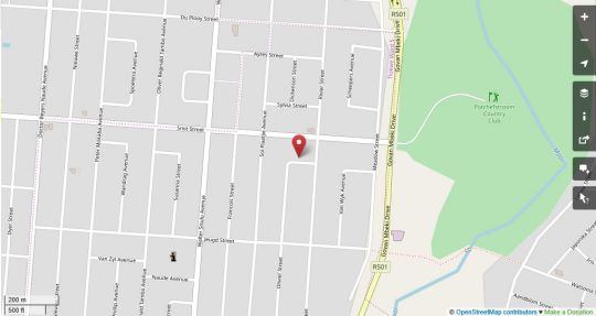 Map Michael-Angelo Guest House in Potchefstroom  Southern (NW)  North West  Suid-Afrika