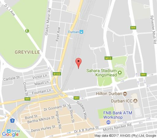 Map The Heron Guest House in Morningside (DBN)  Durban  Durban and Surrounds  KwaZulu Natal  South Africa