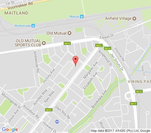 Map Abide With Us in Pinelands  Southern Suburbs (CPT)  Cape Town  Western Cape  South Africa