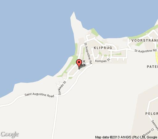 Map Abalone House & Spa in Paternoster  West Coast (WC)  Western Cape  South Africa