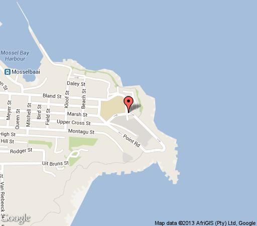 Map Point Village Hotel in Mossel Bay  Garden Route  Western Cape  South Africa