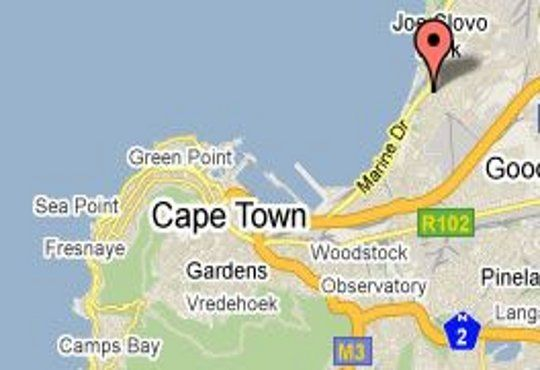 Map Cape Town Palms in Milnerton  Blaauwberg  Cape Town  Western Cape  South Africa