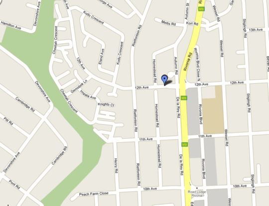 Map Louise Terrace in Rivonia  Sandton  Johannesburg  Gauteng  South Africa
