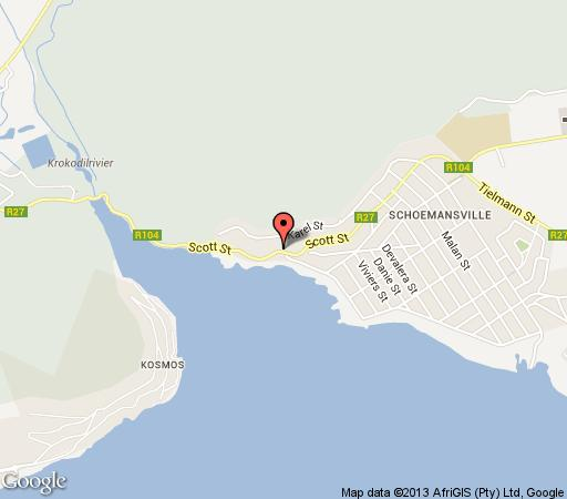Map Stirling Manor Boutique Guest House in Hartbeespoort  Bojanala  North West  South Africa