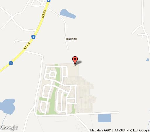 Map Kurland Hotel in Plettenberg Bay  Garden Route  Western Cape  South Africa