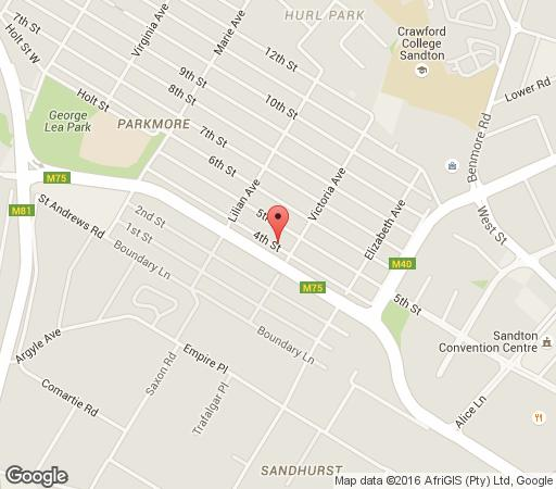 Map Mizizi House Of Sandton in Parkmore  Sandton  Johannesburg  Gauteng  South Africa