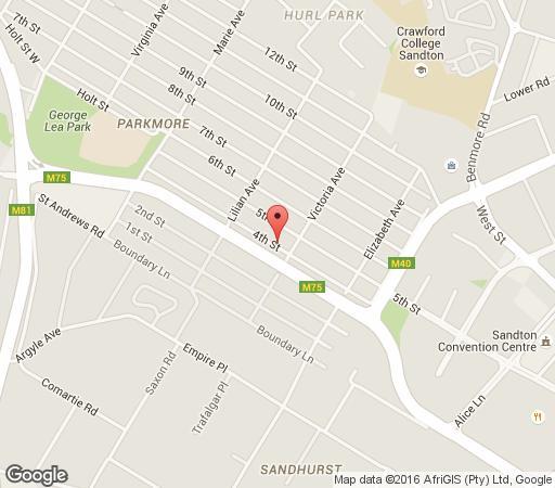 Map Mizizi House Of Sandton in Parkmore  Sandton  Johannesburg  Gauteng  South Africa
