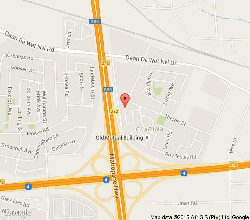 Map Lizvilla  in Akasia  Pretoria North  Pretoria / Tshwane  Gauteng  South Africa