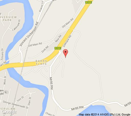 Map de Charmoy Estate in Durban North  Northern Suburbs (DBN)  Durban and Surrounds  KwaZulu Natal  South Africa