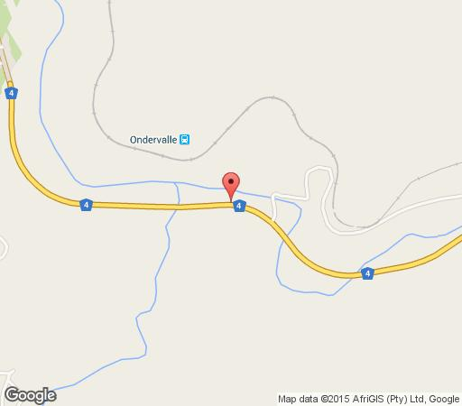 Map Kiepersol Self-catering in Waterval Boven  Highlands  Mpumalanga  South Africa
