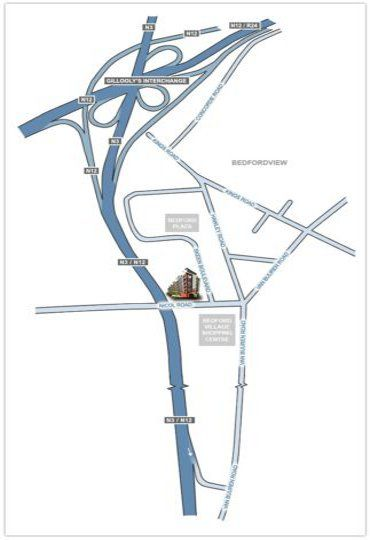 Map The Nicol - Urban Hip Hotels in Bedfordview  Ekurhuleni (East Rand)  Gauteng  South Africa