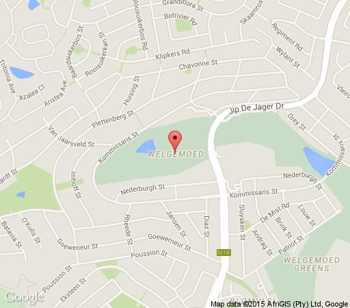 Map Bell Rosen in Welgemoed  Northern Suburbs (CPT)  Cape Town  Western Cape  South Africa