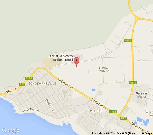 Map 3 Oaks and an Aloe Boutique Hotel in Hartbeespoort  Bojanala  North West  South Africa