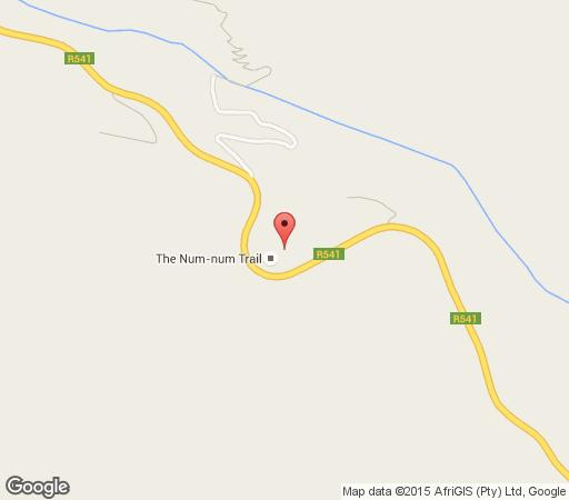 Map Pongola Express Camp (Five Assegais) in Machadodorp  Highlands  Mpumalanga  South Africa