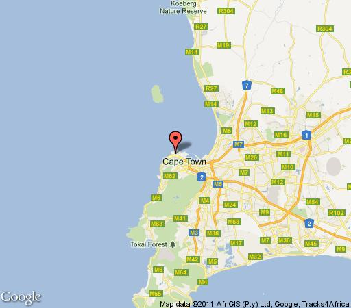Map Groenehof  in Green Point  Atlantic Seaboard  Cape Town  Western Cape  South Africa