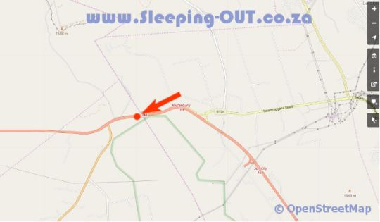 Map N4 Guest Lodge in Rustenburg  Bojanala  North West  South Africa