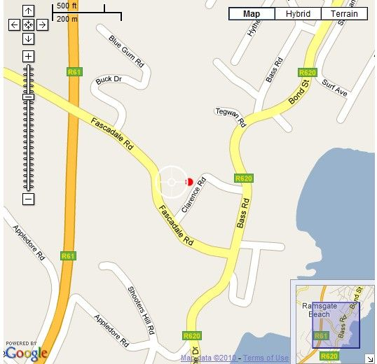Map 44 Providence in Ramsgate  South Coast (KZN)  KwaZulu Natal  South Africa