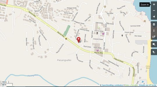 Map Amakaya Backpackers & Apartments in Plettenberg Bay  Garden Route  Western Cape  South Africa