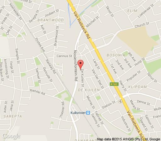 Map Eagles Nest in Kuils River  Northern Suburbs (CPT)  Cape Town  Western Cape  South Africa