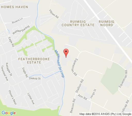 Map Afrique Boutique Hotel Ruimsig in Ruimsig  Roodepoort  West Rand  Gauteng  South Africa