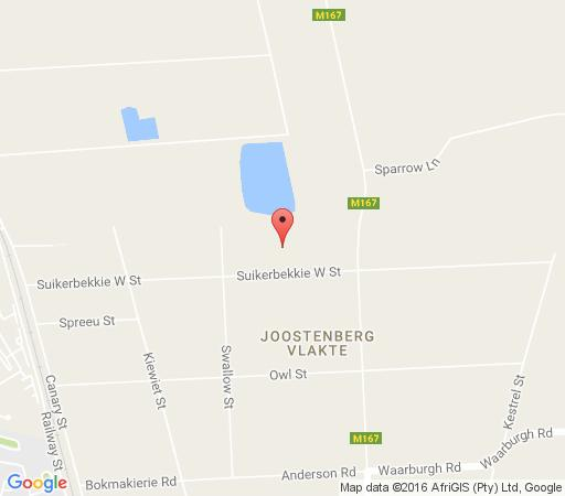 Map Drafstap Cottage in Joostenbergvlakte  Northern Suburbs (CPT)  Cape Town  Western Cape  South Africa