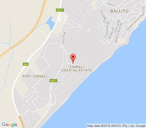 Map Zimbali - 31  Milkwood Street in Zimbali  North Coast (KZN)  KwaZulu Natal  South Africa
