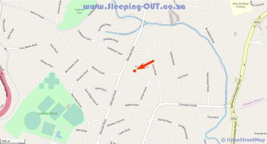 Map The Bell Inn in Pinetown  Western Suburbs (DBN)  Durban and Surrounds  KwaZulu Natal  South Africa