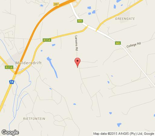 Map Monchique Boutique Guest House in Muldersdrift  West Rand  Gauteng  South Africa