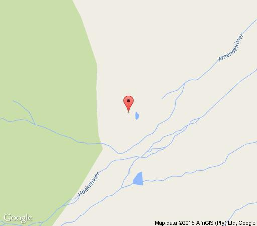 Map Platbos Log Cabins in Rawsonville  Breede River Valley  Western Cape  South Africa