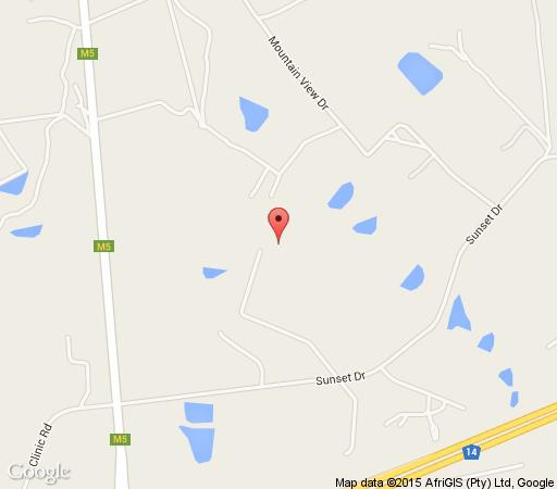 Map Hartley Manor Guest House in Muldersdrift  West Rand  Gauteng  South Africa