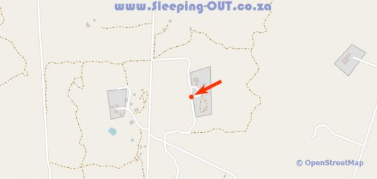 Map Rus Tevrede in Dinokeng South  Metsweding District  Gauteng  South Africa
