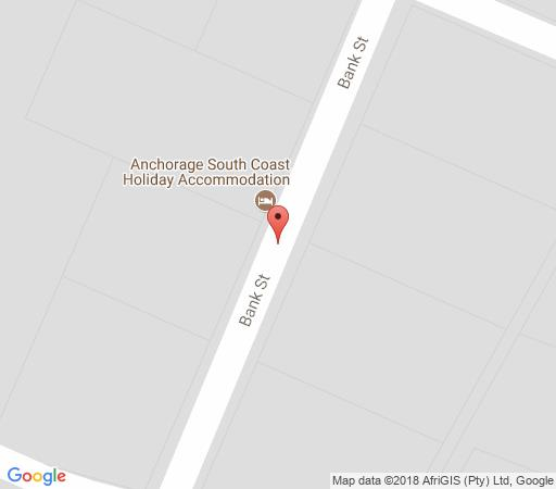Map Anchorage House Margate in Margate  South Coast (KZN)  KwaZulu Natal  South Africa
