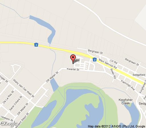 Map 40 Montage Village in Sedgefield  Garden Route  Western Cape  South Africa