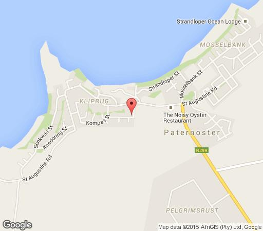Map Paella in Paternoster  West Coast (WC)  Western Cape  South Africa