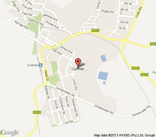 Map Bee Tree  in Cullinan  Pretoria North  Pretoria / Tshwane  Gauteng  South Africa
