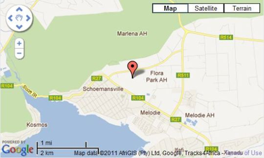 Map Three Oaks and an Aloe Boutique Hotel in Hartbeespoort  Bojanala  North West  South Africa