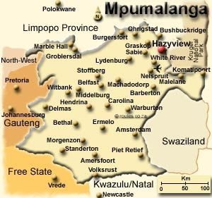 Map Nie-Zel Log Homes in Hazyview  The Panorama  Mpumalanga  South Africa