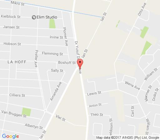 Map Home Away Guest House in Klerksdorp  Southern (NW)  North West  Zuid-Afrika