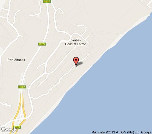 Map No.4 Umsinsi in Ballito  North Coast (KZN)  KwaZulu Natal  South Africa